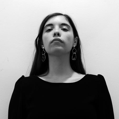 Luna Miguel en Letraheridas 2019 en Katakrak, Pamplona. Autora de 'El funeral de Lolita'.