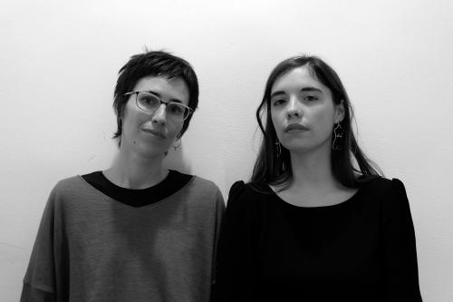 Luna Miguel y Eva Baltasar en Letraheridas 2019 en Katakrak, Pamplona. Autoras de 'Permafrost' y 'El funeral de Lolita'.