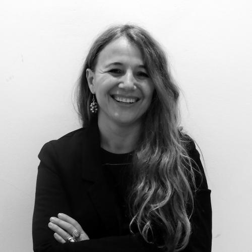Isabel González en Letraheridas 2019 en Katakrak, Pamplona. Autora de 'mil mamíferos ciegos'.