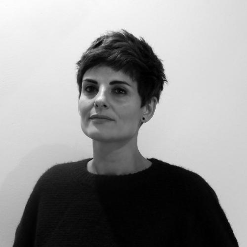 Rosario Villajos en Letraheridas 2019 en Katakrak, Pamplona. Autora de 'Ramona'.