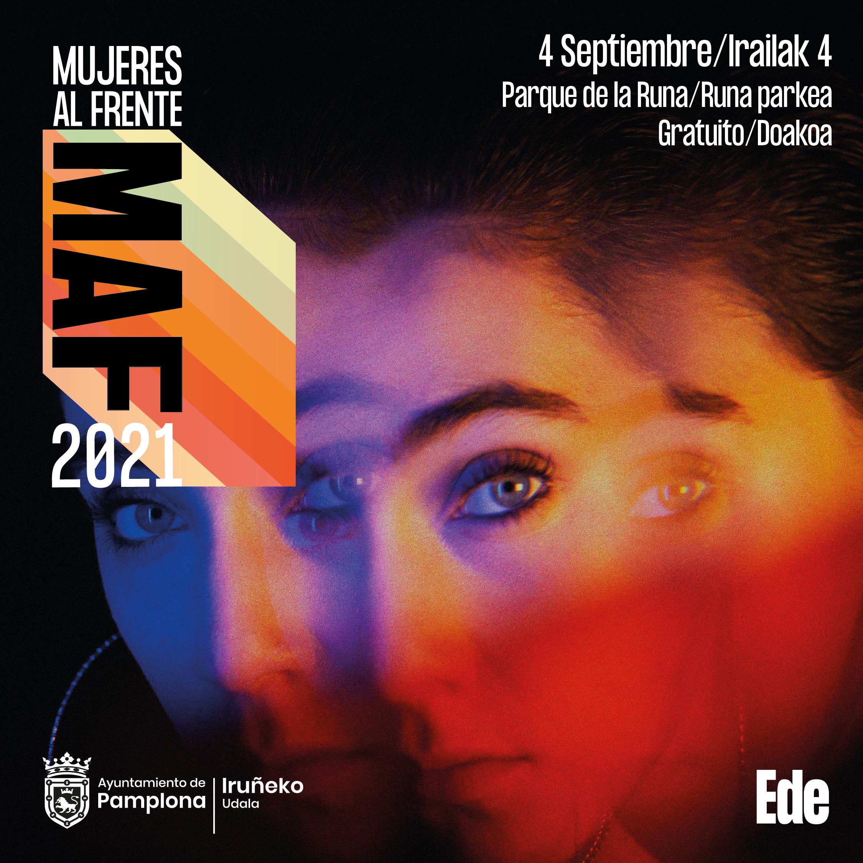 Cartel MAF Ede 4 de septiembre en Pamplona