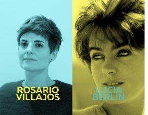 Imagen del ciclo Oh diosas amadas de Rosario Villajos y Lucia Berlín de color amarillo.