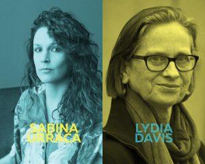 Imagen del ciclo Oh diosas amadas de Sabina Urraca y Lydia Davis de color amarillo.